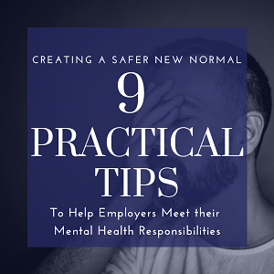 Mental Health: 9 Practical Tips for Employers