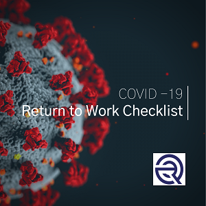 COVID-19: Return to Work Checklist