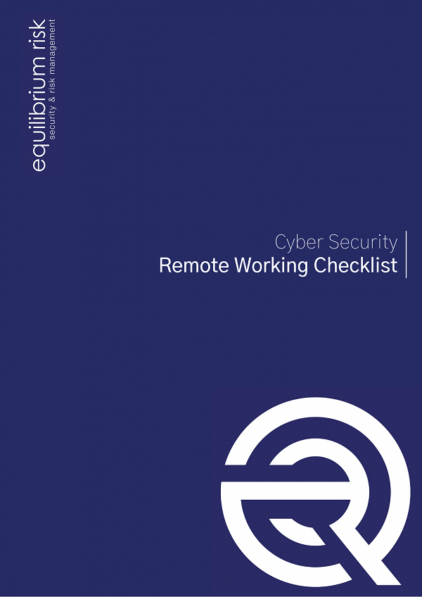 Cyber Security Remote Working Checklist